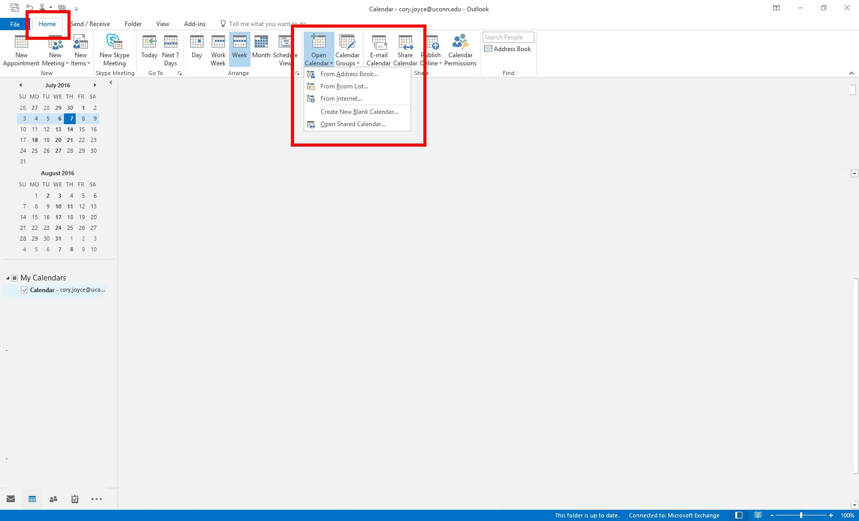 Shared Calendar Icon.Calendar Add Shared Calendar To Outlook Office Of Technology