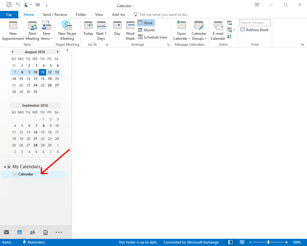 Share Calendar or Change Calendar Permissions in Outlook